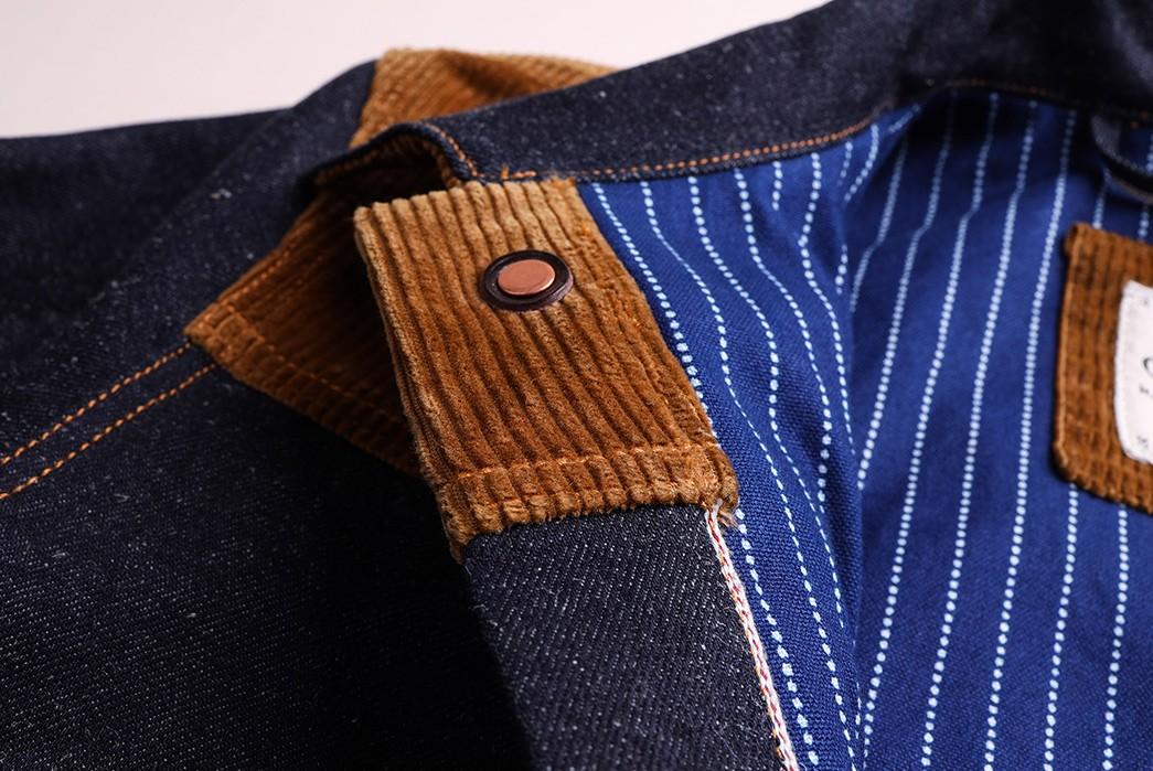 Companion-Sews-Up-Cotton-Hemp-Blend-Italian-Selvedge-Denim-For-Its-Nevada-Jacket-front-top-detailed