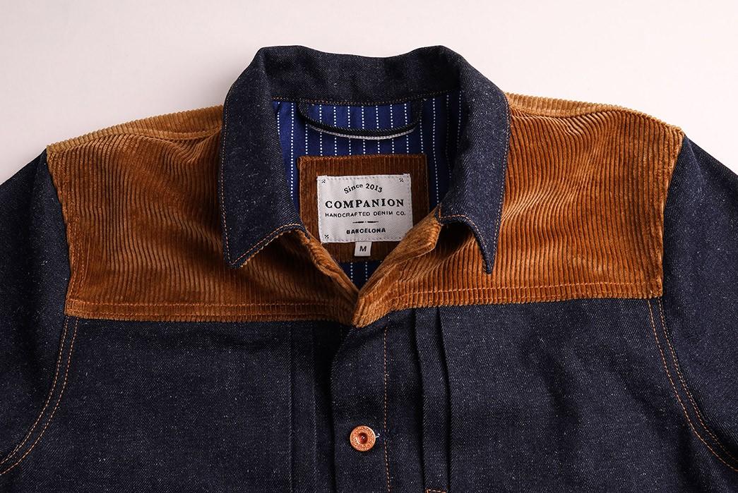 Companion-Sews-Up-Cotton-Hemp-Blend-Italian-Selvedge-Denim-For-Its-Nevada-Jacket-front-top