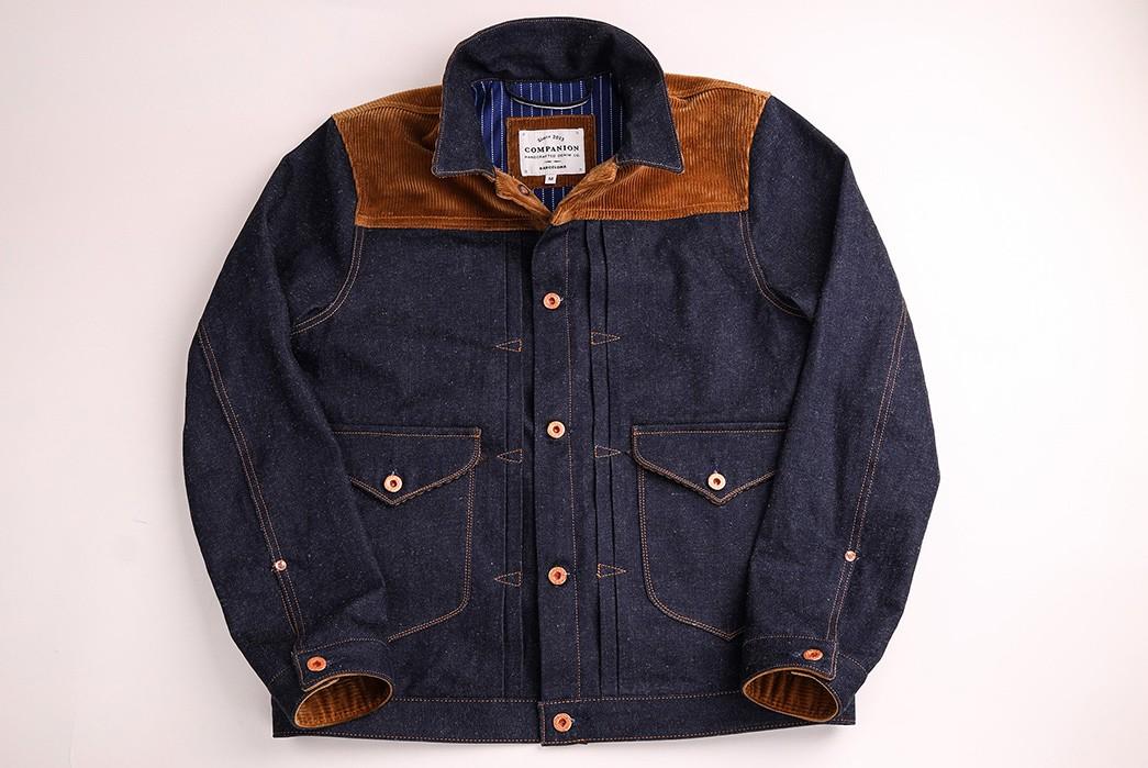 Companion-Sews-Up-Cotton-Hemp-Blend-Italian-Selvedge-Denim-For-Its-Nevada-Jacket-front-