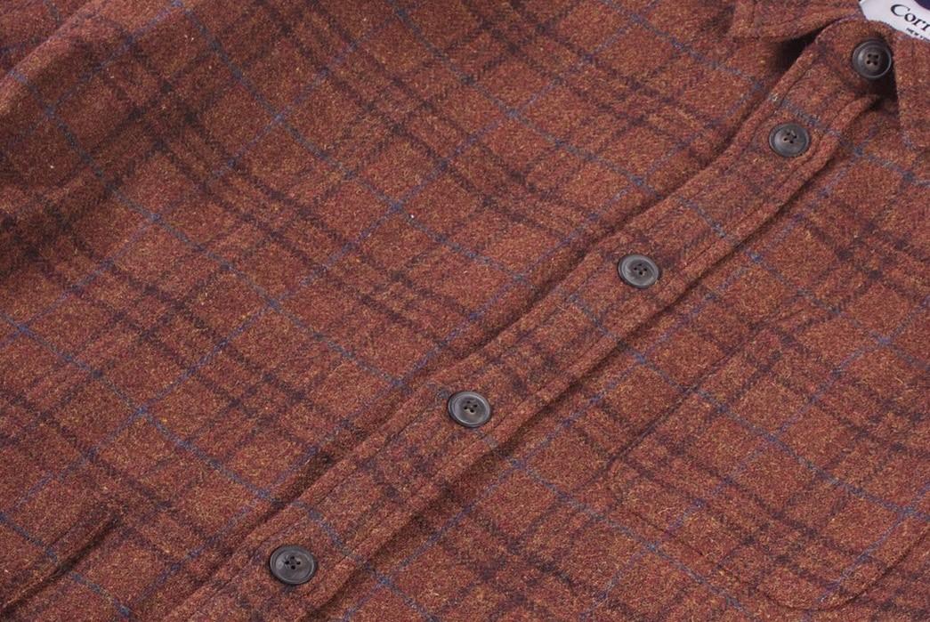 Corridor-NYC-Renders-Its-Shetland-Wool-Jacket-in-'Raisin'-Plaid-front-detailed