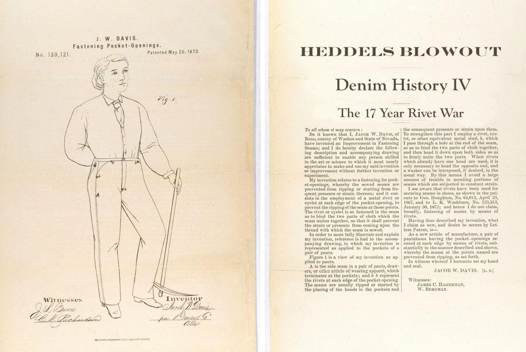 The 17 Year Rivet War – Denim History pt. 4