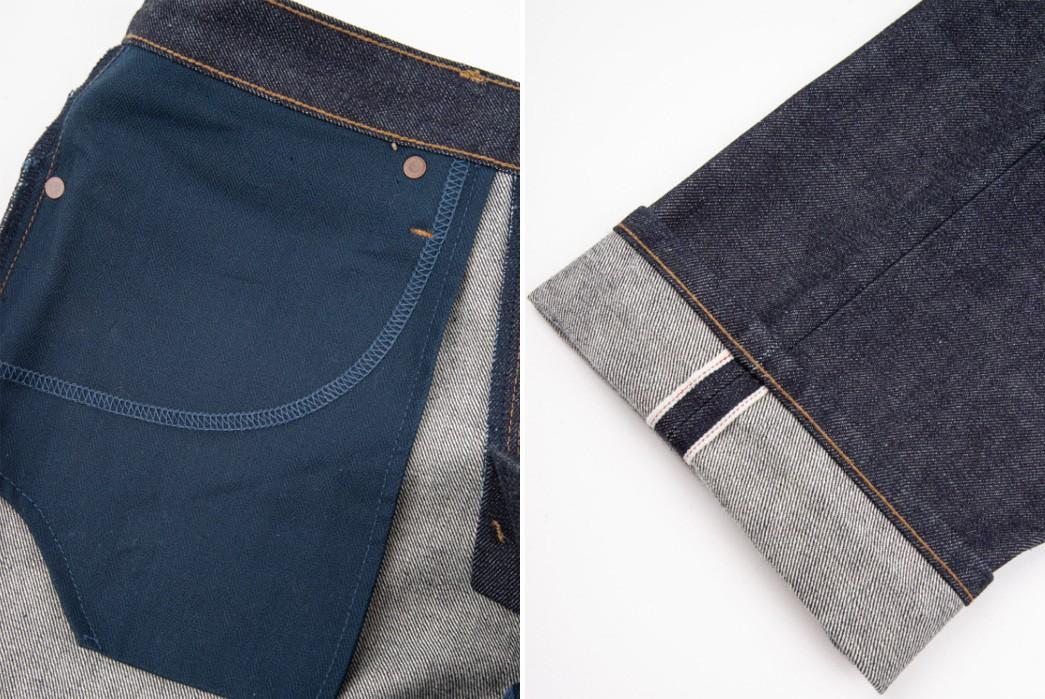 Freenote-Cloth-Enlists-15-oz.-Kaihara-Denim-For-Its-Trabuco-Jean-inside-pocket-bag-and-leg-selvedge