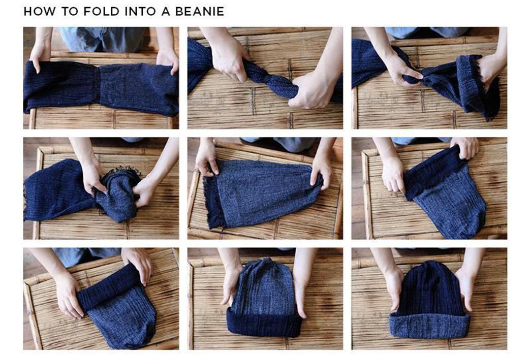 Kobo-Oriza-Reinvents-The-Beanie-how-to-fold-into-a-beanie