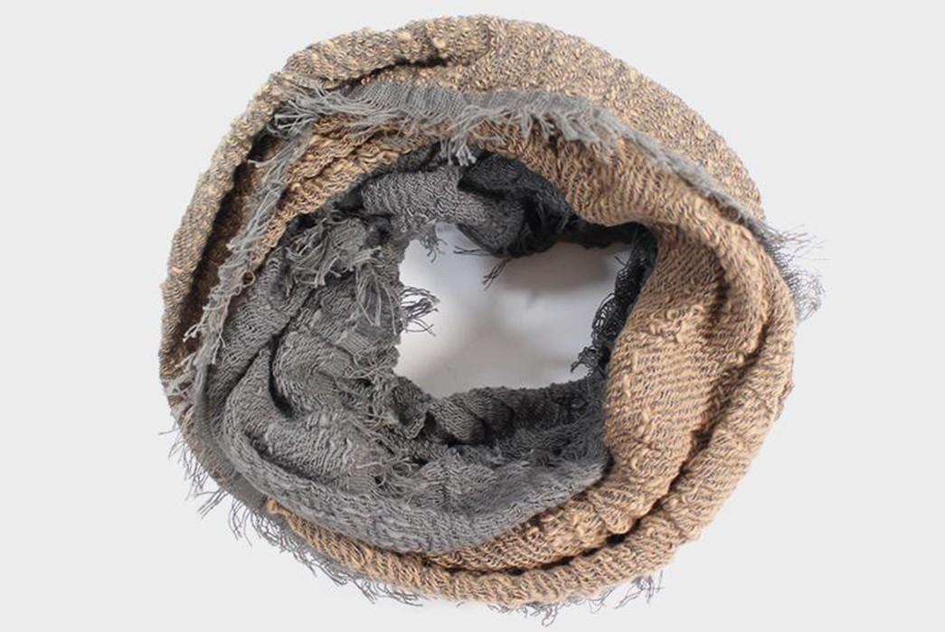 Kobo-Oriza-Reinvents-The-Beanie-scarf-folded