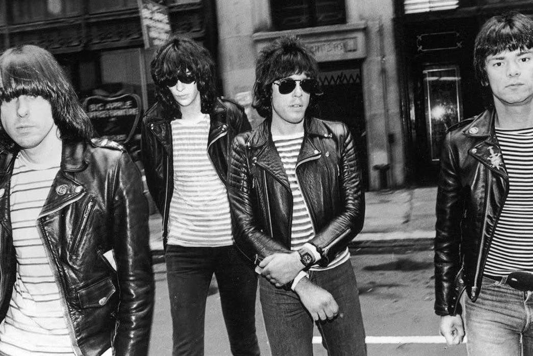 Schott-NYC---History,-Philosophy,-&-Iconic-Products-The-Ramones-Wearing-Schott-Perfectos-in-the-via-GQ
