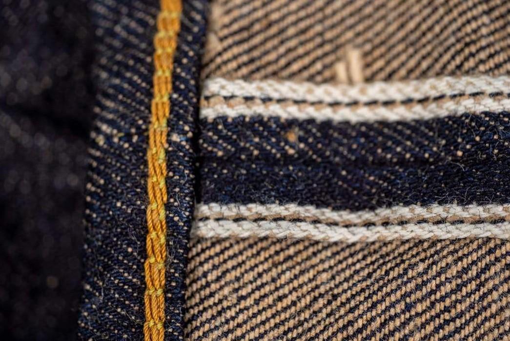 Studio-D'Artisan-Renders-Relax-Tapered-Jeans-In-California's-Foxfibre-inside-seam