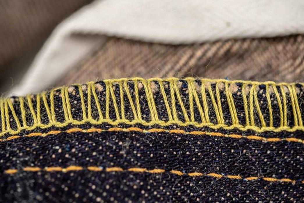 Studio-D'Artisan-Renders-Relax-Tapered-Jeans-In-California's-Foxfibre-seams