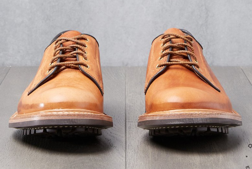 Tricker's-Treats-Division-Road-To-An-Exclusive-Wholecut-Horween-Derby-pair-front