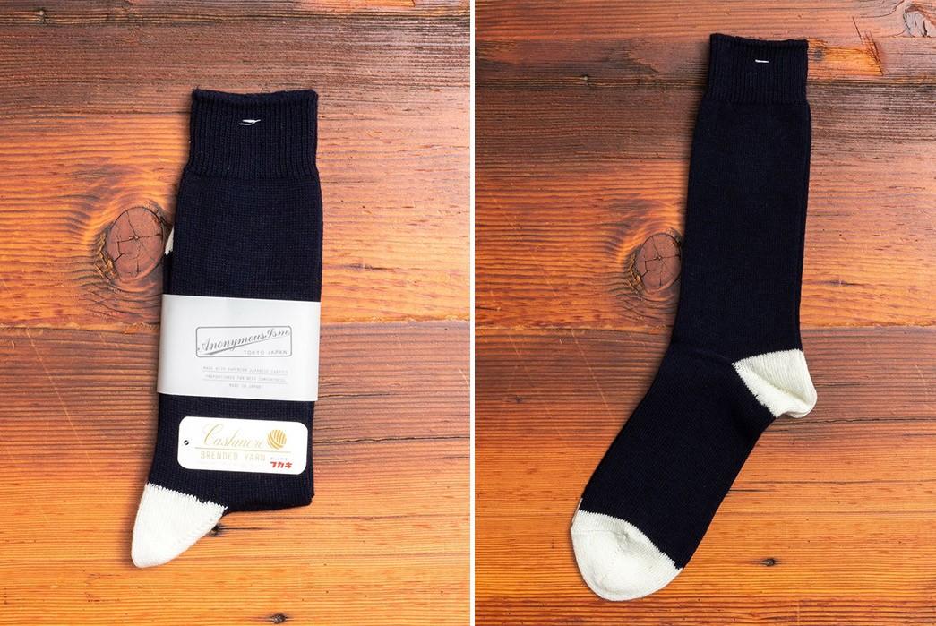 Wool-Socks---Five-Plus-One-Plus-One---AnonymousIsm-Cashmere-Crew-Socks