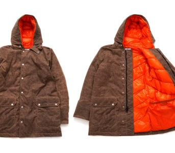 American-Trench-Renders-Its-Down-Jacket-In-Waxed-Cotton