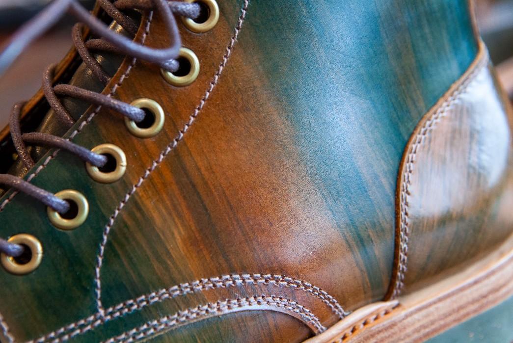 Pigeon Tree Crafting Kicks Off 2021 With Its fourth Santalum Collaboration Boot