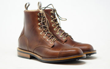 Unmarked-Caps-Off-Its-Hunter-Boot-In-Horween-Chromexcel-pair-front-side