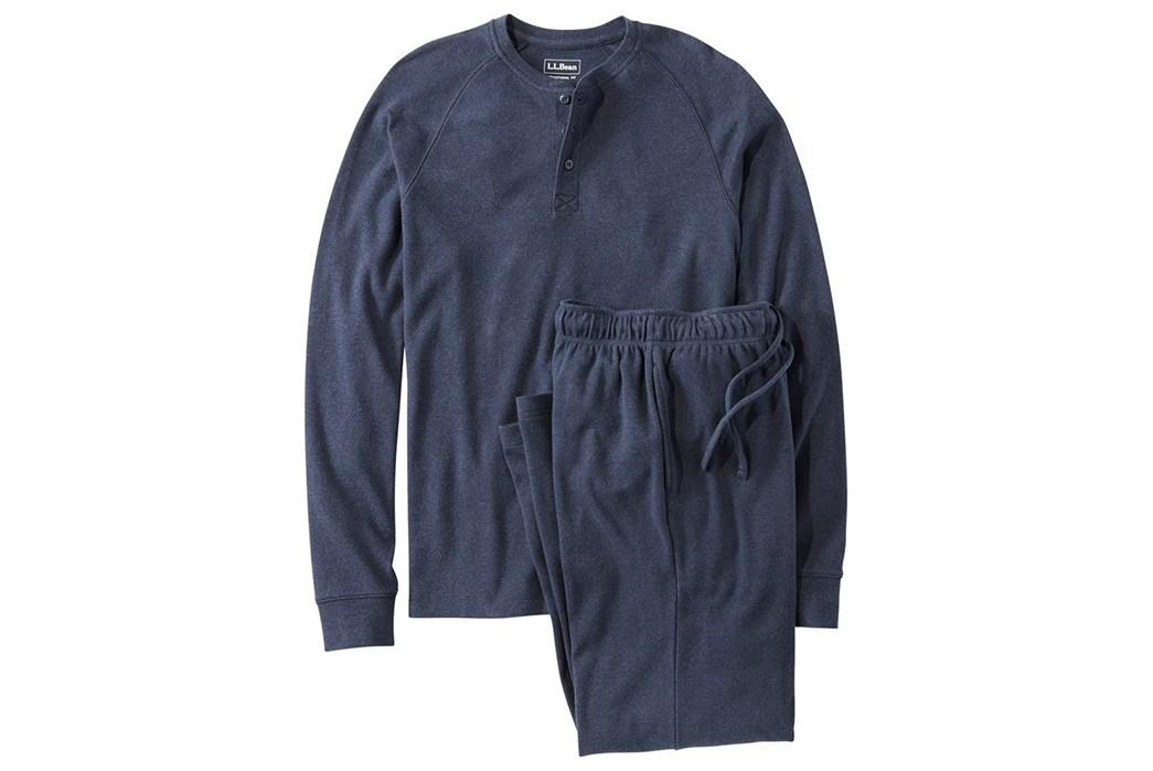 Winter-Pajamas---Five-Plus-One-1)-L.L.-Bean-Organic-Cotton-Pajama-Set