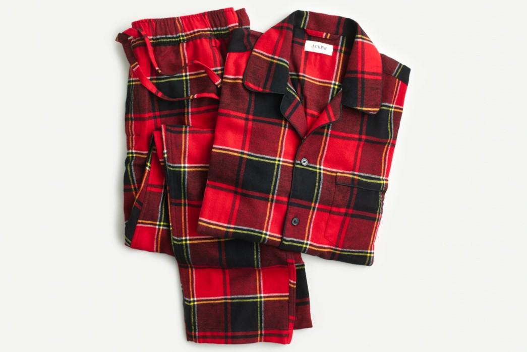 Winter-Pajamas---Five-Plus-One-3)-J.-Crew-Flannel-Pajama-Set