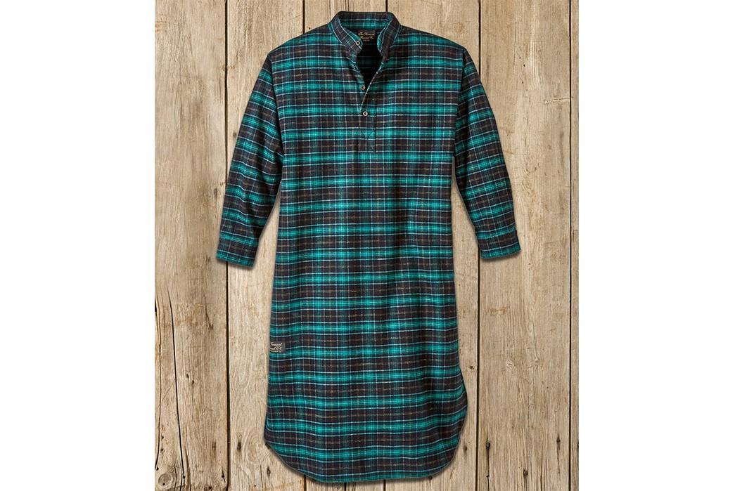 Winter-Pajamas---Five-Plus-One-5)-Vermont-Flannel-Long-Night-Shirt