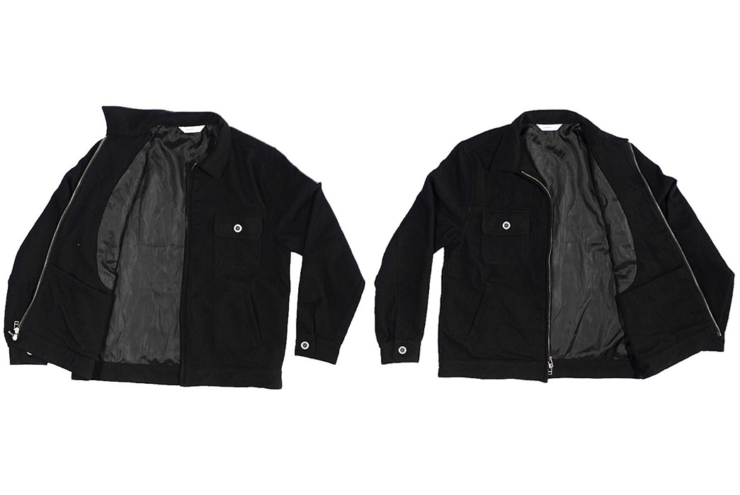 Bubble-Up-In-3sixteen's-Boiled-Wool-Mechanic-Jacket-fronts-open