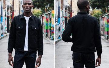 Bubble-Up-In-3sixteen's-Boiled-Wool-Mechanic-Jacket-model-front-back