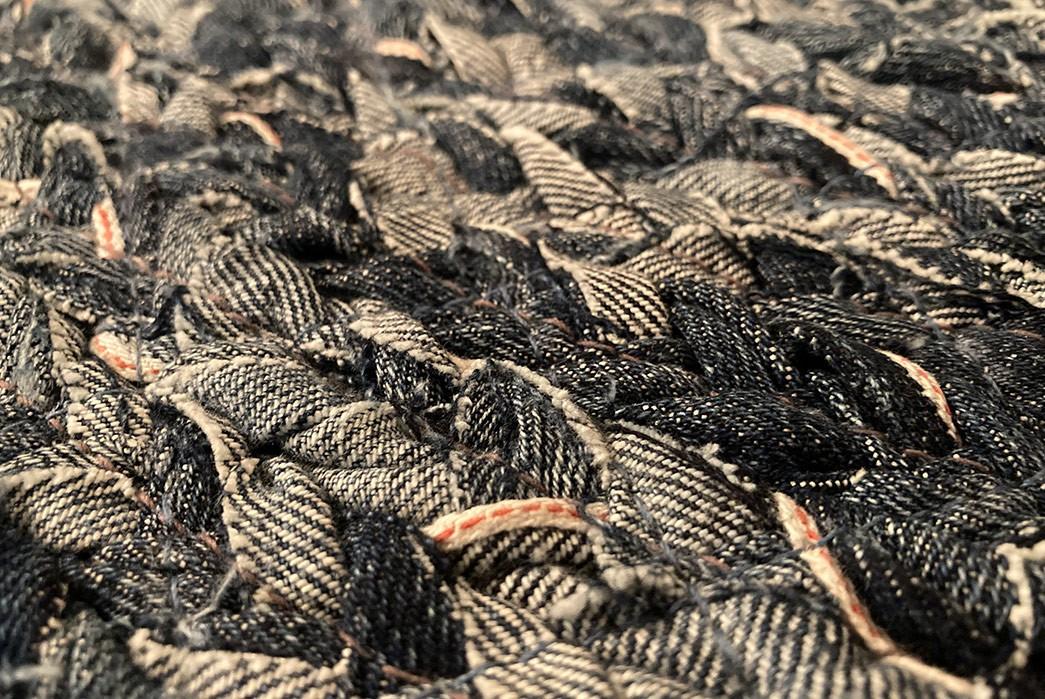 Fade-Friday---Homemade-Braided-Selvedge-Denim-Rug-(8-Years)-detailed-2