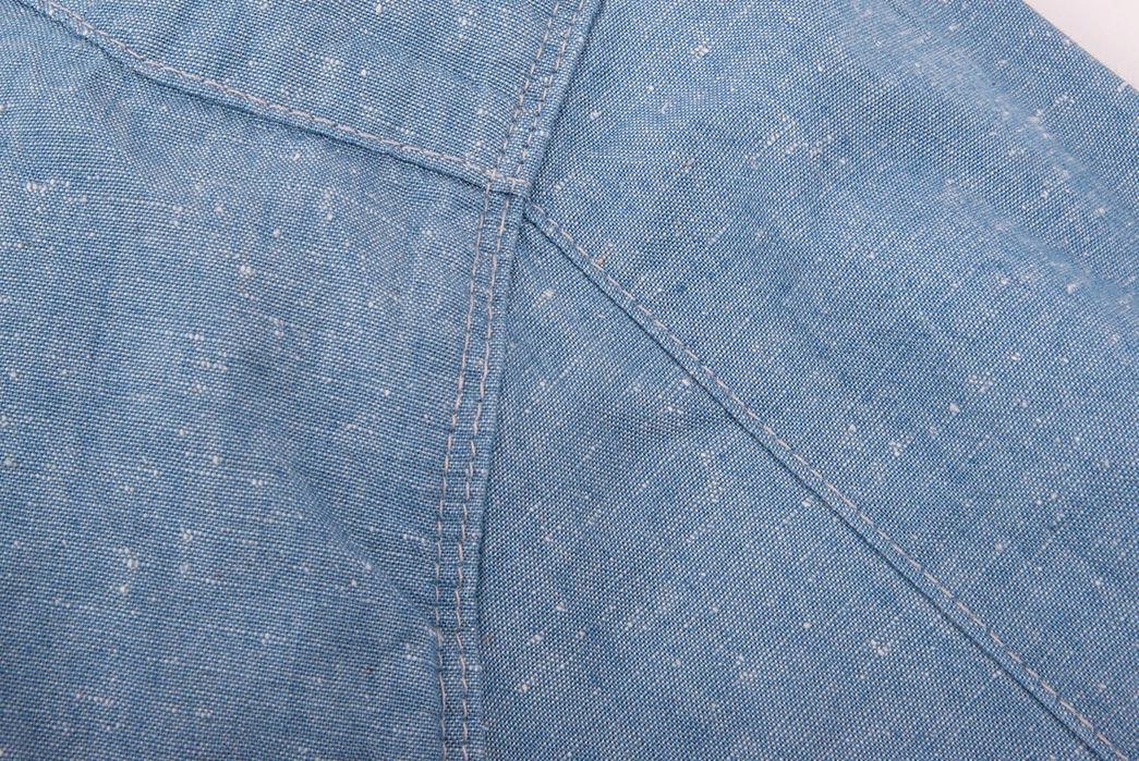 Freenote-Cloth's-Chambray-Calico-Shirt-Is-Neppy-pocket