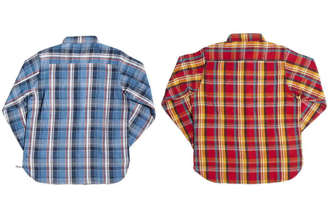Get-High-With-Studio-D'Artisans-Blue-Kush-&-Red-Eye-Flannel-Shirts-backs