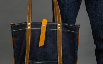 Haul Your Hopes For A Better Year In The UES 23 oz. Denim Tote Bag