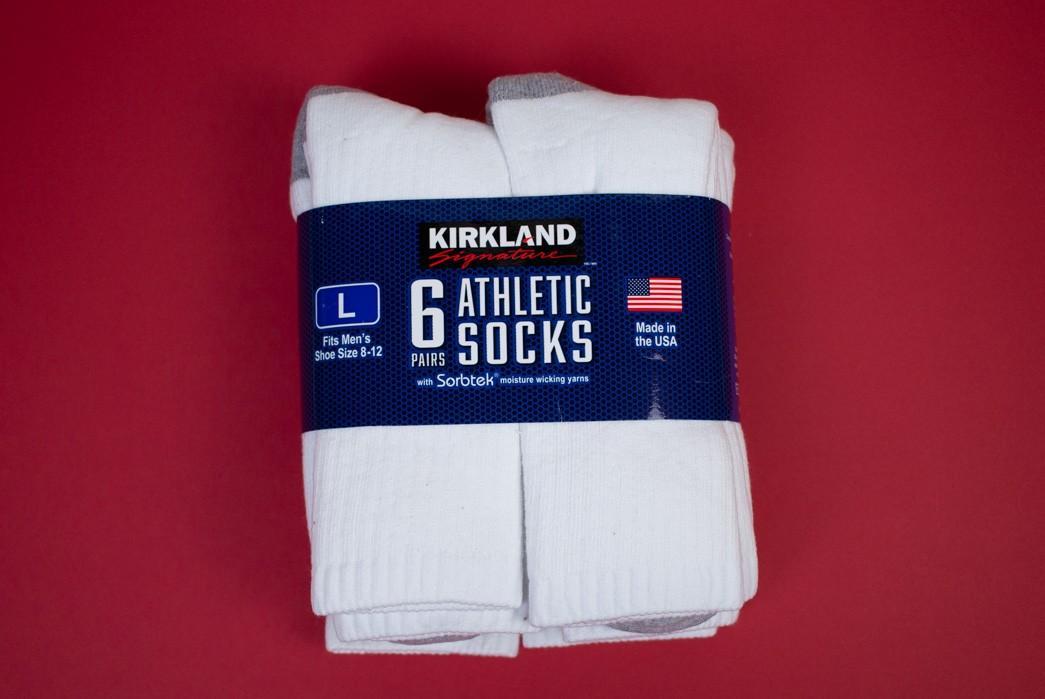 Kirkland Signature 6-Pack Crew Socks Review