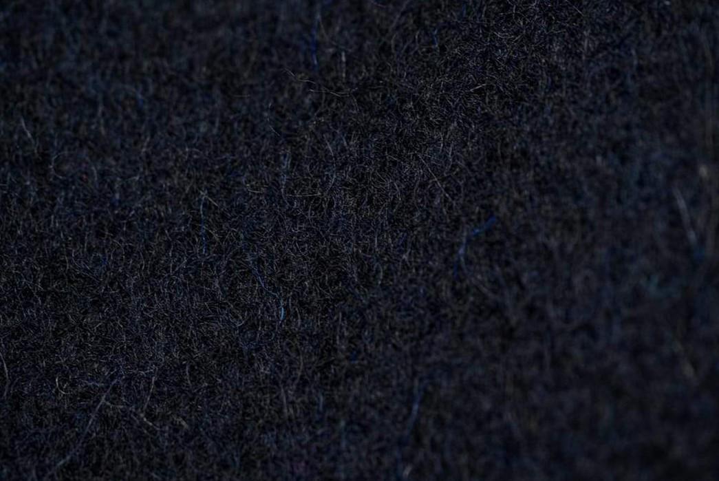 Melt-Ice-With-The-Strike-Gold's-Military-Melton-Jacket-detailed