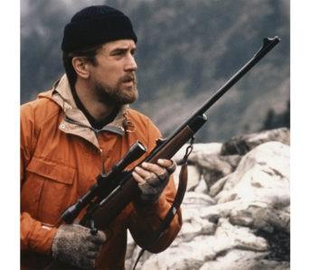 Mountain-Parkas---Five-Plus-One Robert De Niro wears an orange Mountain Parka by Holubar in the 1978 film The Deer Hunter (Image via The Times).