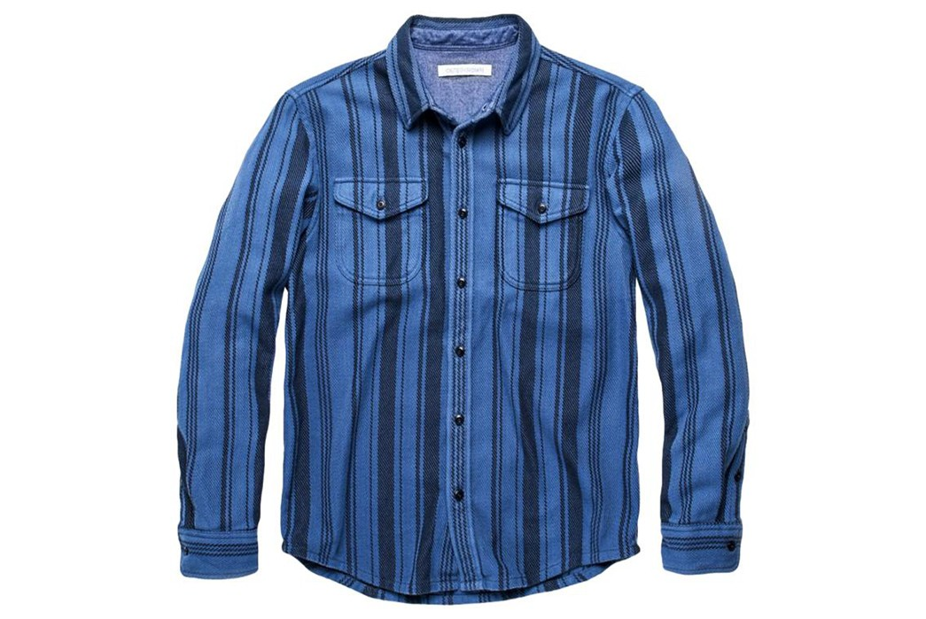 Outerknown's-Pacific-Hi-Dez-Stripe-Shirt-Is-Inspired-By-Baja-Blankets-front