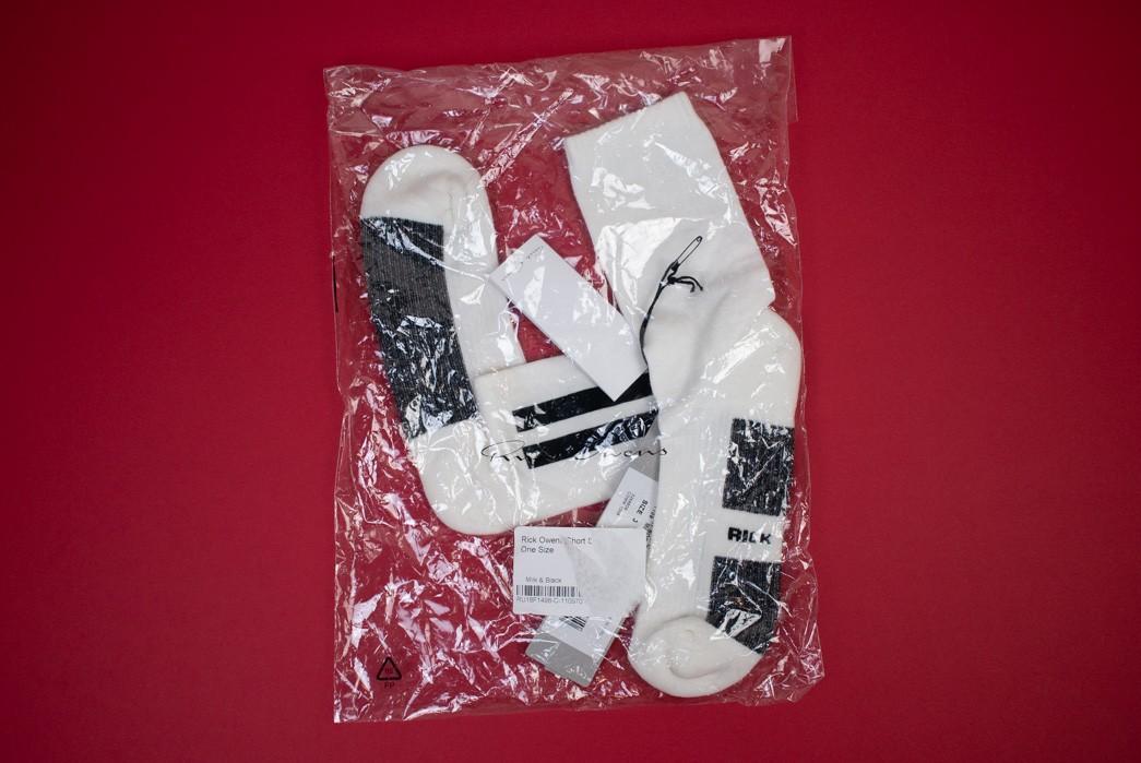 Rick Owens Short Sock Review