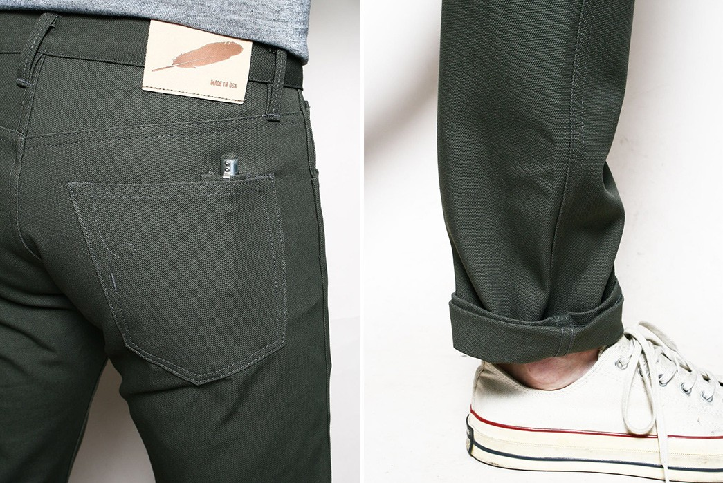 Rogue-Territory-Issues-Its-Stanton-Fit-In-Double-Knee-Duck-Canvas-green-back-and-leg