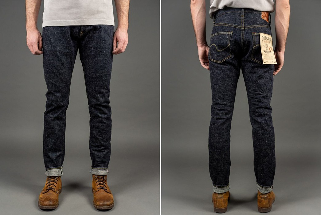 Taper-Into-A-Year-Of-Fades-With-Oni's-Latest-16.5-oz.-Denim-Duo-model-front-back