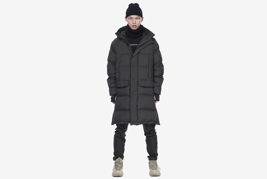 Techwear-Winter-Coats---Five-Plus-One-2)-Krakatauwear-Long-Down-Jacket