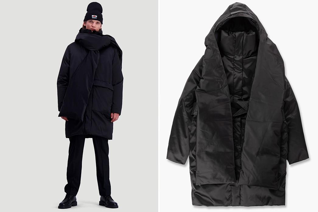 Techwear-Winter-Coats---Five-Plus-One-Plus-One---Holzweiler-Snohetta-Down-Coat