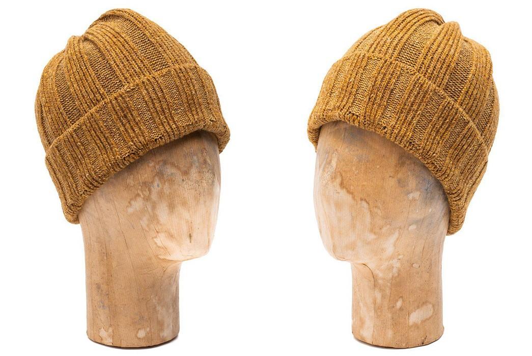 Watch-Caps-II---Five-Plus-One-Plus-One---Pherrows-PSWC1-Wool-Silk-Knit-Beanie