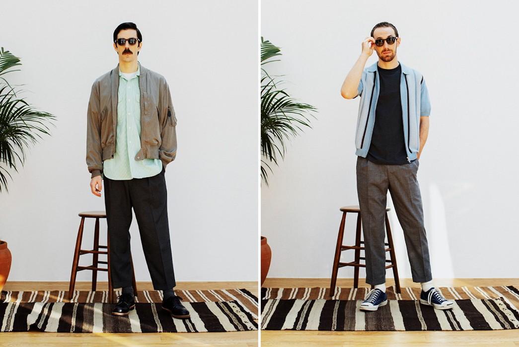 Beams-SS21-grey-and-blue-coat