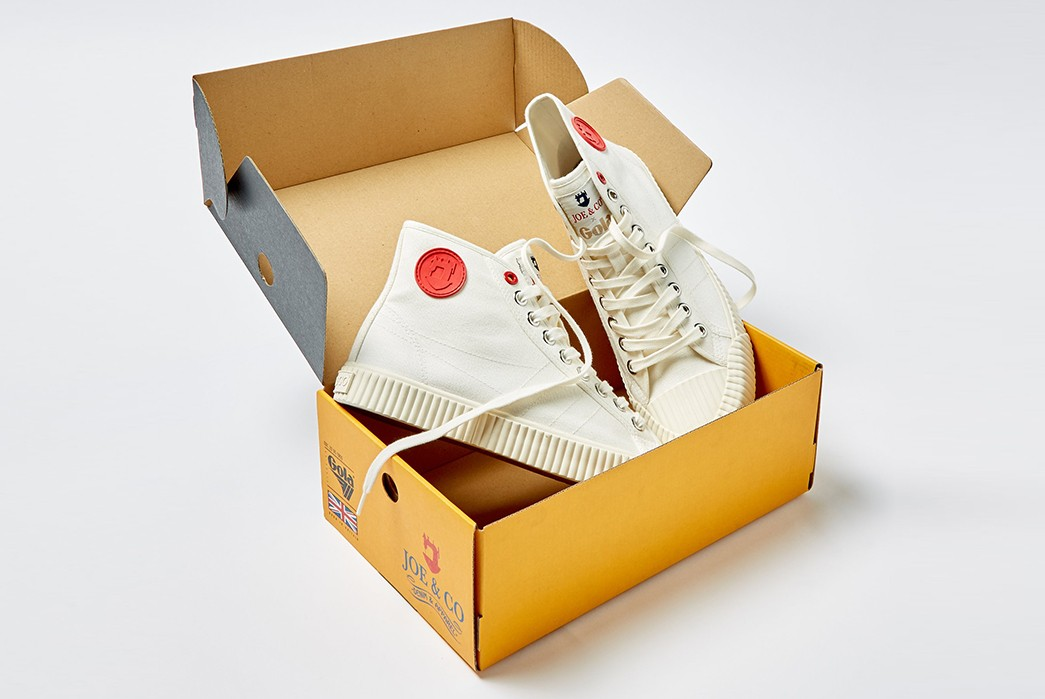 Britain's-Joe-&-Co.-Collaborates-With-Gola-To-Produce-High-Grade-Canvas-Hi-Tops-white-in-box