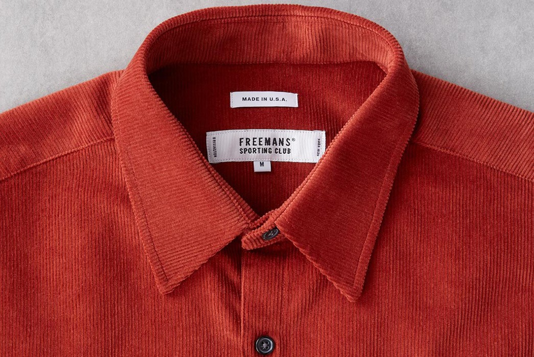 Freemans-Sporting-Club-Renders-Its-CS-1-Shirt-In-Japanese-Corduroy-For-Division-Road-front-collar