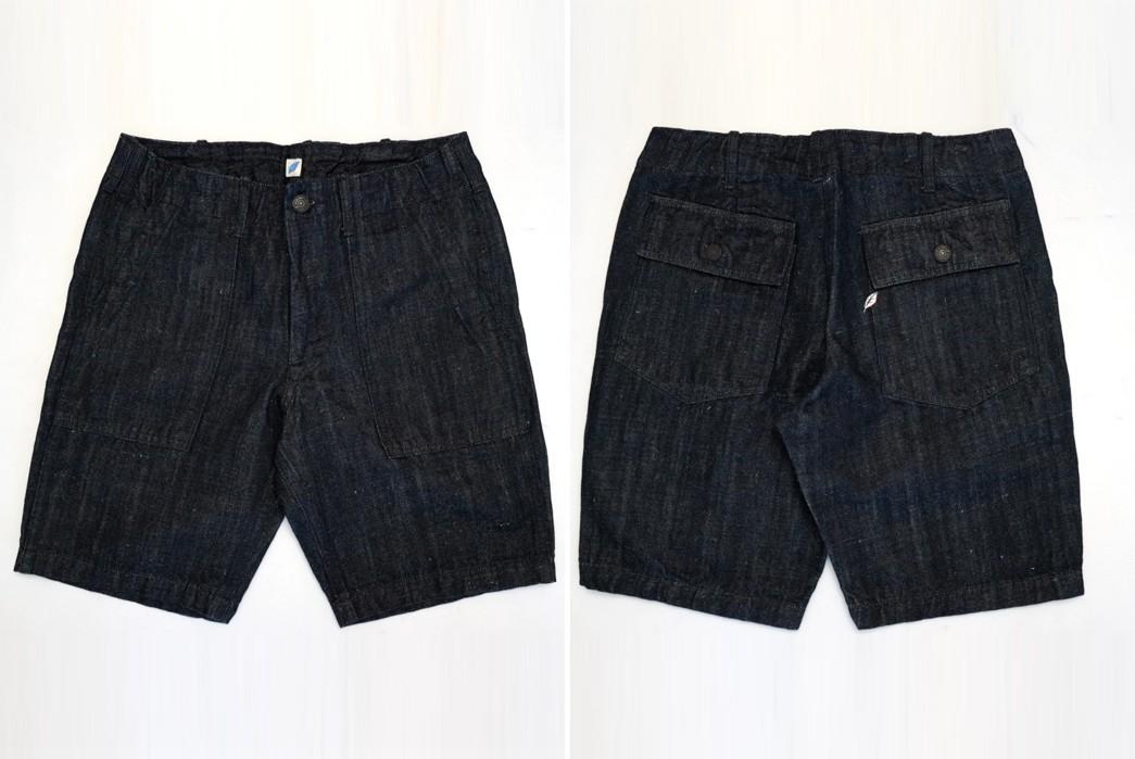 PBJ-Issues-Baker-Shorts-In-12-Oz.-Cotton-Hemp-Denim-front-back