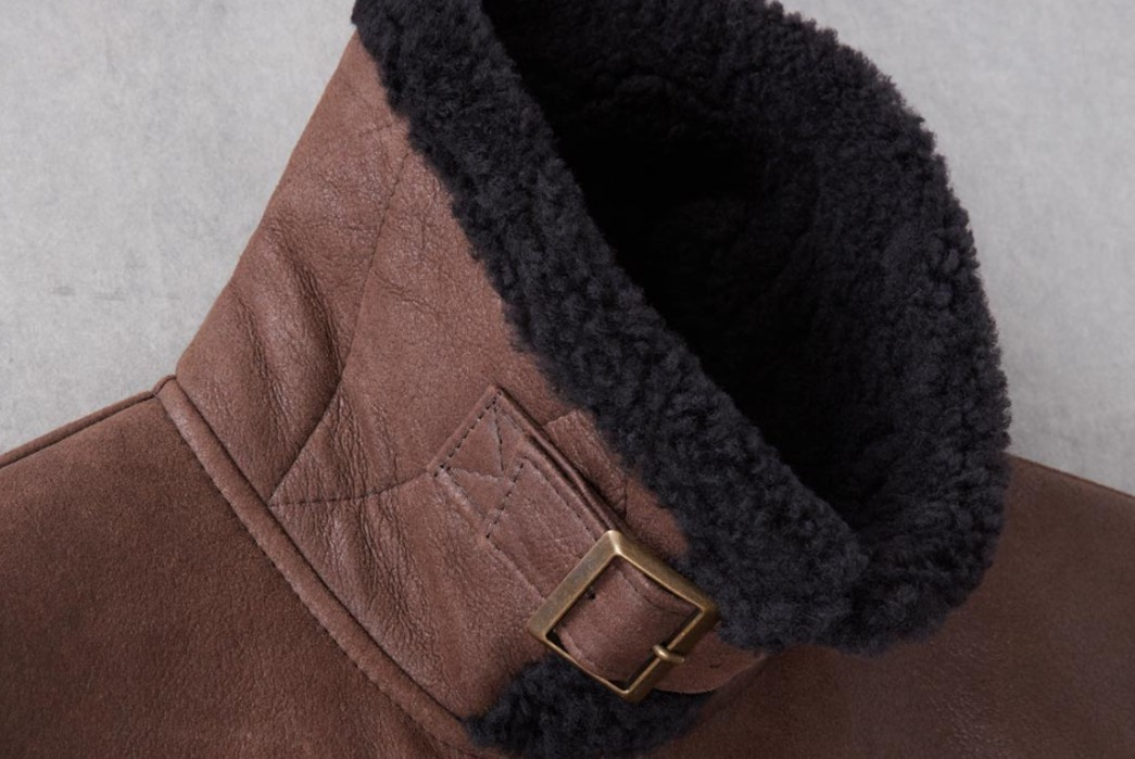 Shearling-Lined-Jacket---Five-Plus-One-2)-Cromford-Leather-Co-Shearling-Flight-Bomber-Jacket-collar