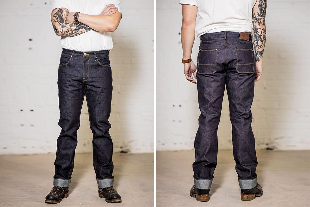 Straddle-2021-In-Freenote-Cloth's-Wilkes-Jean-In-Kaihara-Mills-Denim-model-front-back-2