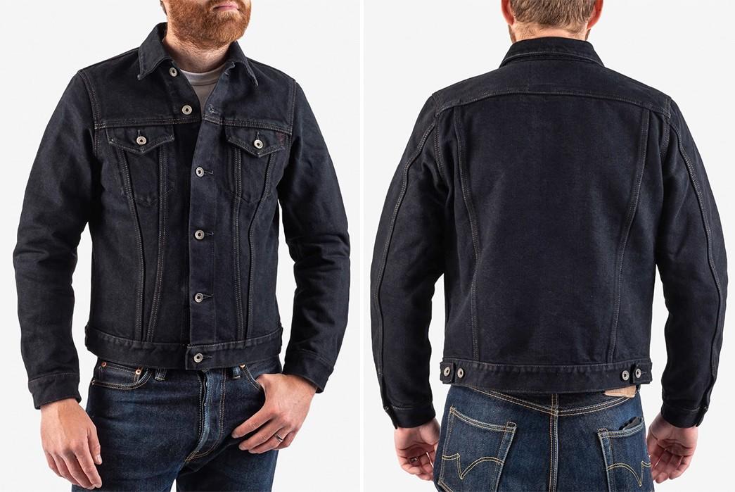 Unique-Denim-Jackets-Part-II---Five-Plus-One-4)-Iron-Heart-22Oz.-Type-III-in-Overdyed-Indigo