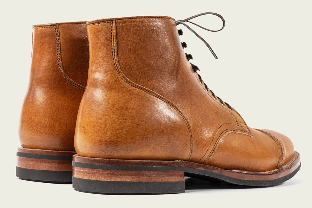 Viberg-Unleashes-A-Duo-Of-Shinki-Leather-Service-Boots-back-light-brown