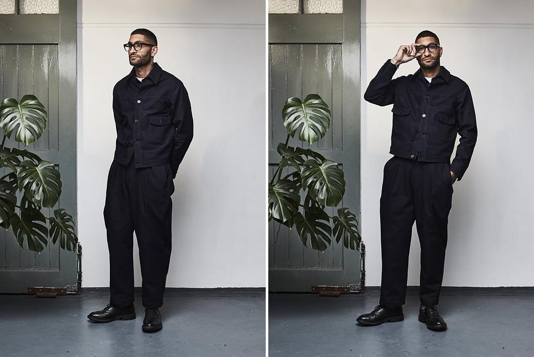 Dawson-Denim-Renders-Its-Type-II-Jacket-In-Indigo-Sashiko-model