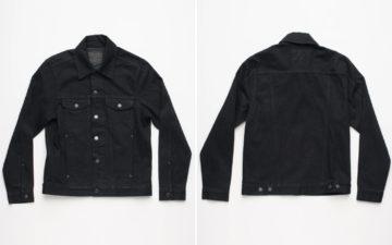 Freenote-Cloth-Renders-Is-CD1-Trucker-In-Black-Grey-Yoshiwa-Mills-Denim-front-back