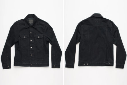 Freenote-Cloth-Renders-Is-CD1-Trucker-In-Black-Grey-Yoshiwa-Mills-Denim-front-back