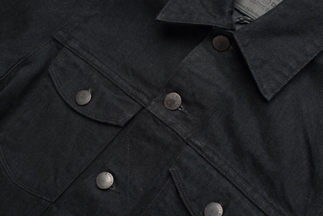 Freenote-Cloth-Renders-Is-CD1-Trucker-In-Black-Grey-Yoshiwa-Mills-Denim-front