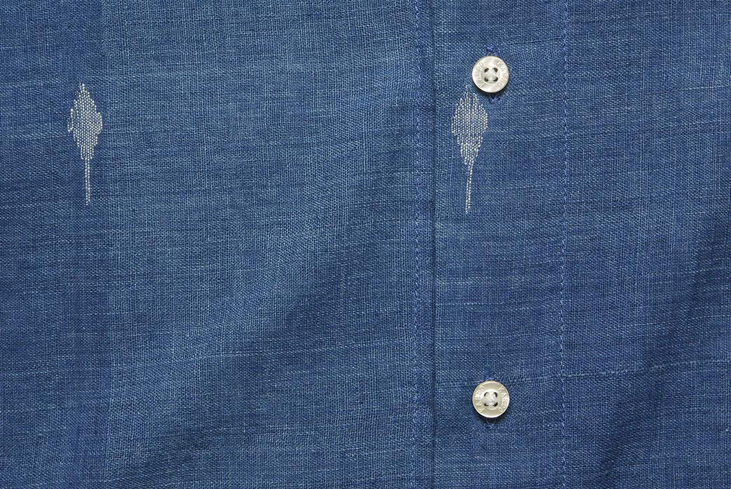 Kardo's-DKardo's-Diamond-Jamdhani-Lamar-Shirt-Is-Made-By-One-Tailor-front-buttonsiamond-Jamdhani-Lamar-Shirt-Is-Made-By-One-Tailor-front-buttons