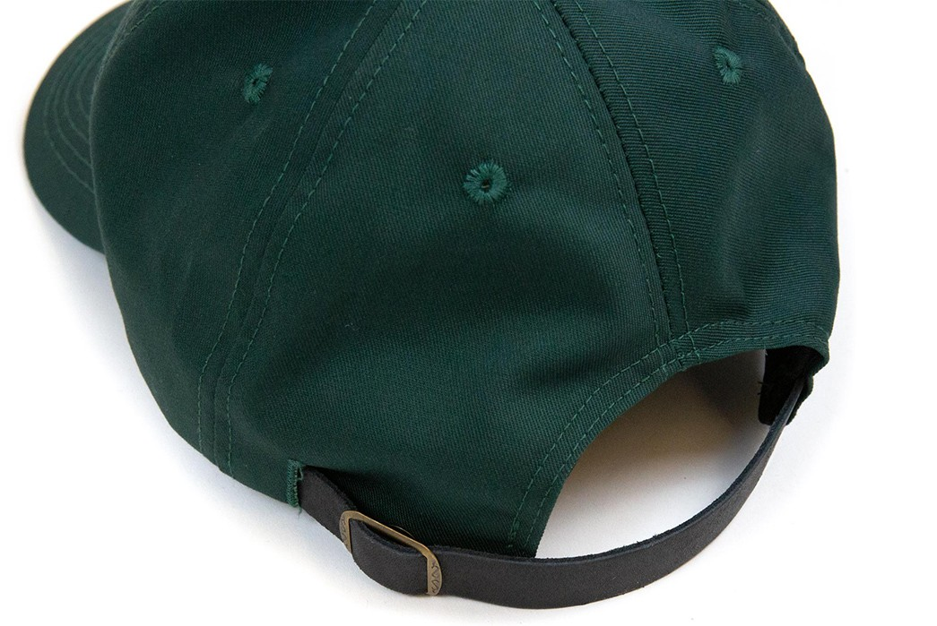 Lost-&-Found-Introduces-Its-Own-Line-Of-Canadian-Made-Ball-Caps-green-detailed