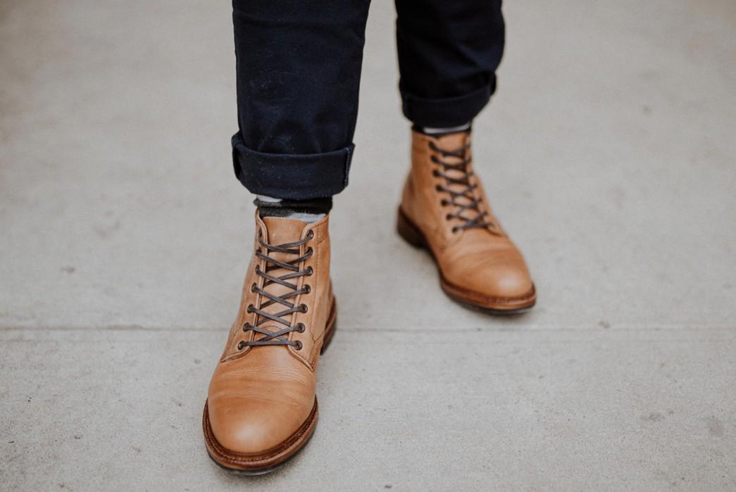 Parkhurst-Sponsored-Brand-Profile-The-Allen-Boot-in-Natural-Dublin-Leather.-Image-via-Parkhurst-Brand-LLC.